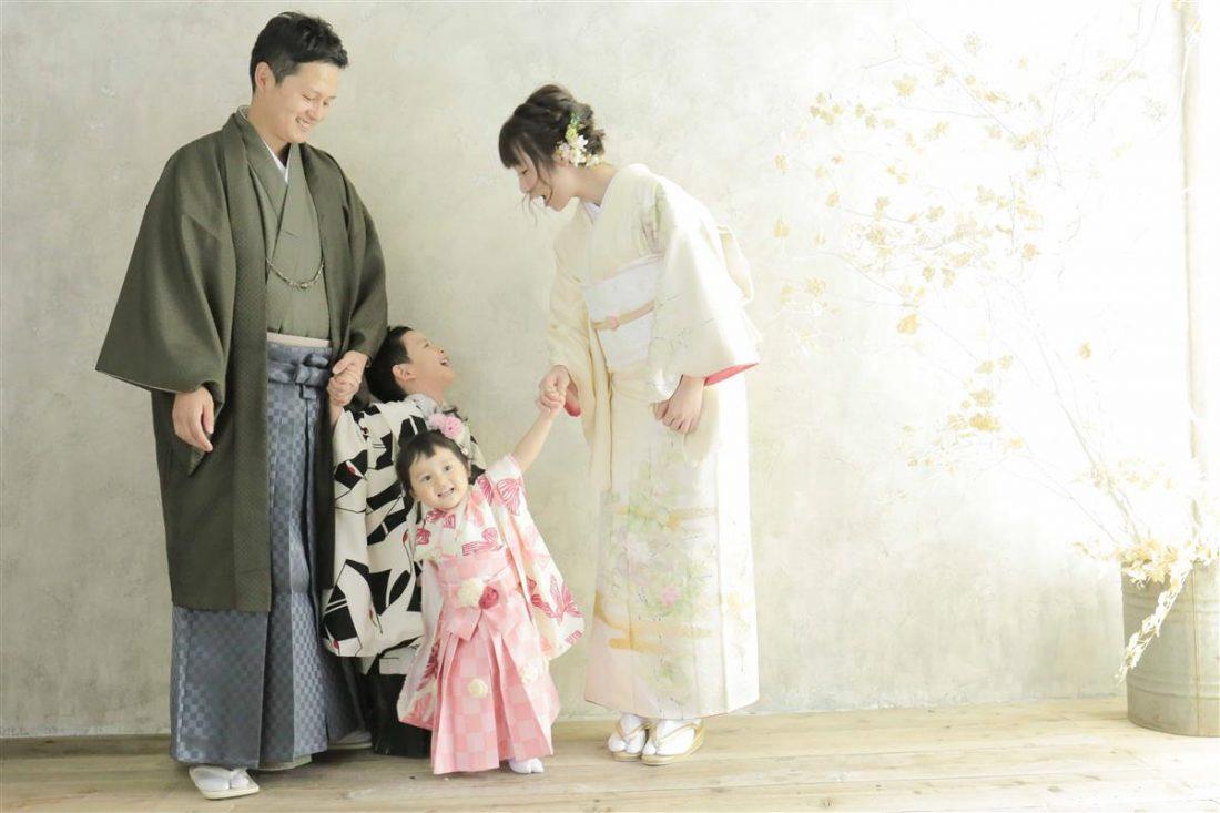 南青山スタジオ ママのお着物ご紹介