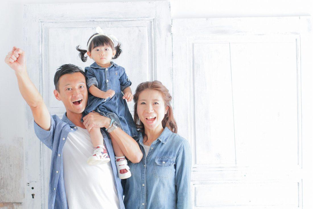 家族写真 梅田スタジオ♪