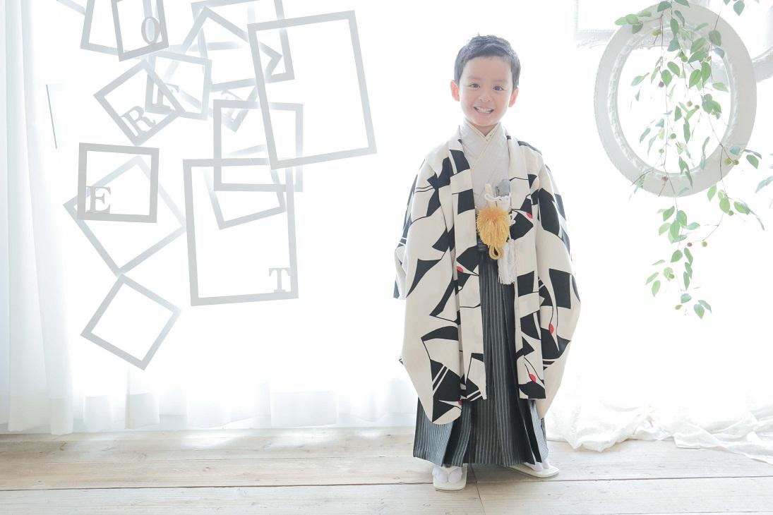 南青山スタジオ 人気のお着物ご紹介~5歳男の子編~