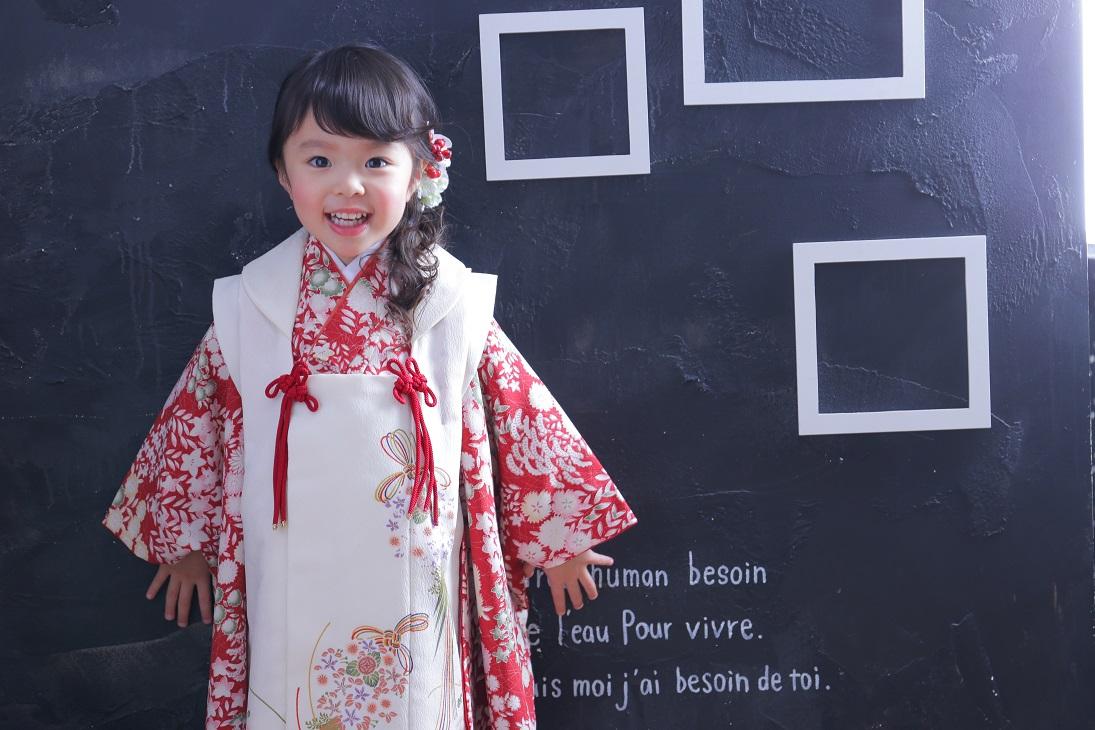 3歳さんに人気のヘアスタイル -着物編- 南青山スタジオ