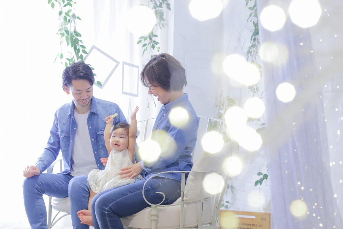 家族写真を撮ろう 梅田スタジオ♪