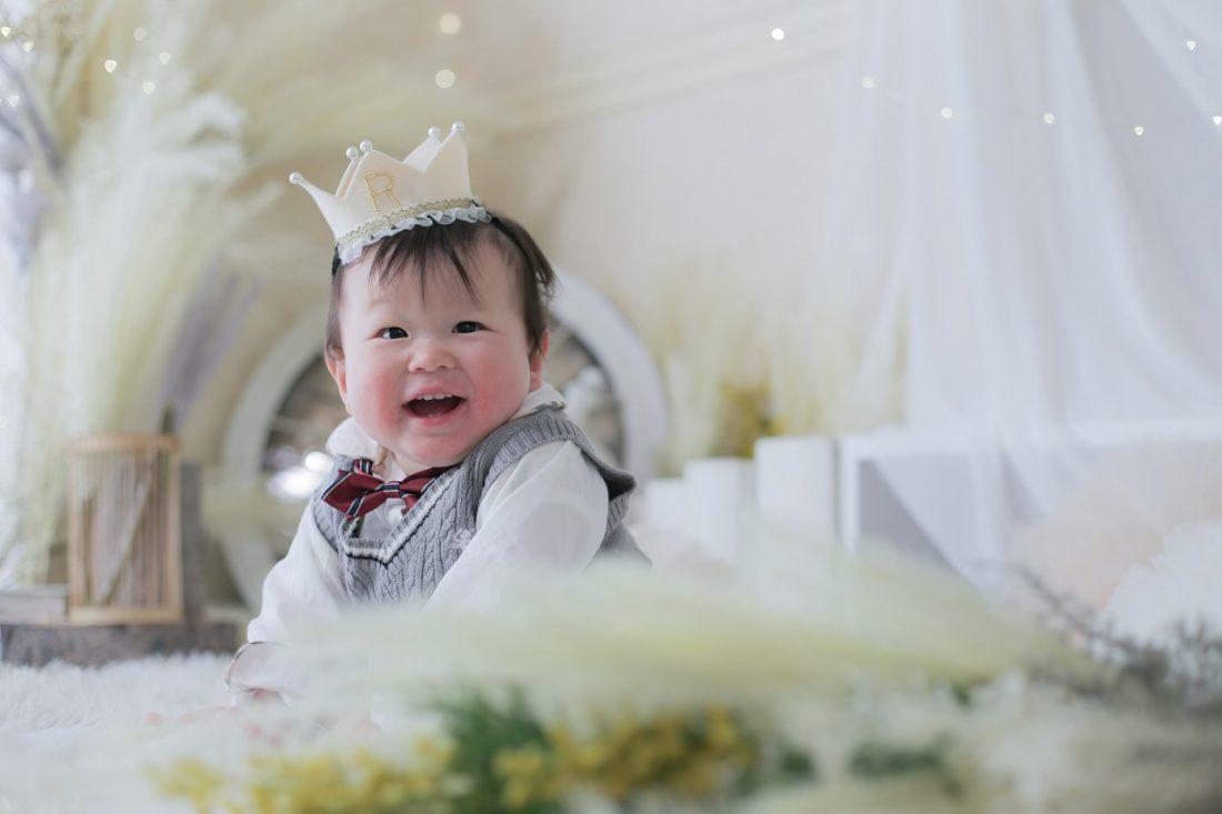 <1歳バースデー>4月にお越しのお客様フォト公開!【梅田スタジオ】