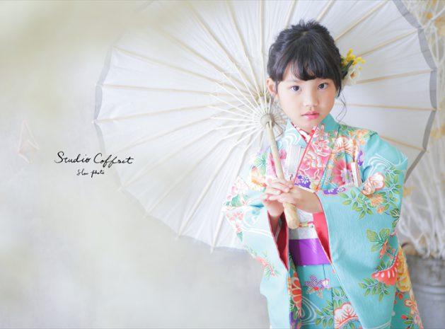 <七五三>7歳和装コーディネート第2弾!【南青山スタジオ】