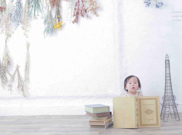 <1歳バースデー>2月にお越しのお客様フォト公開!【梅田スタジオ】